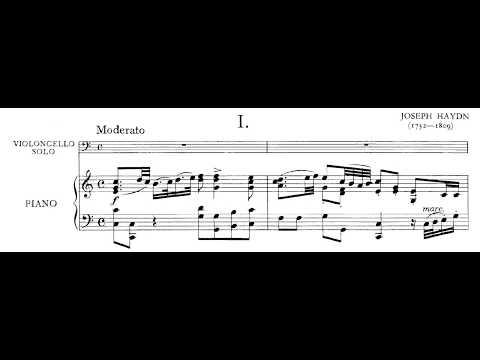 Score: Haydn Cello Concerto In C Major - Movement I
