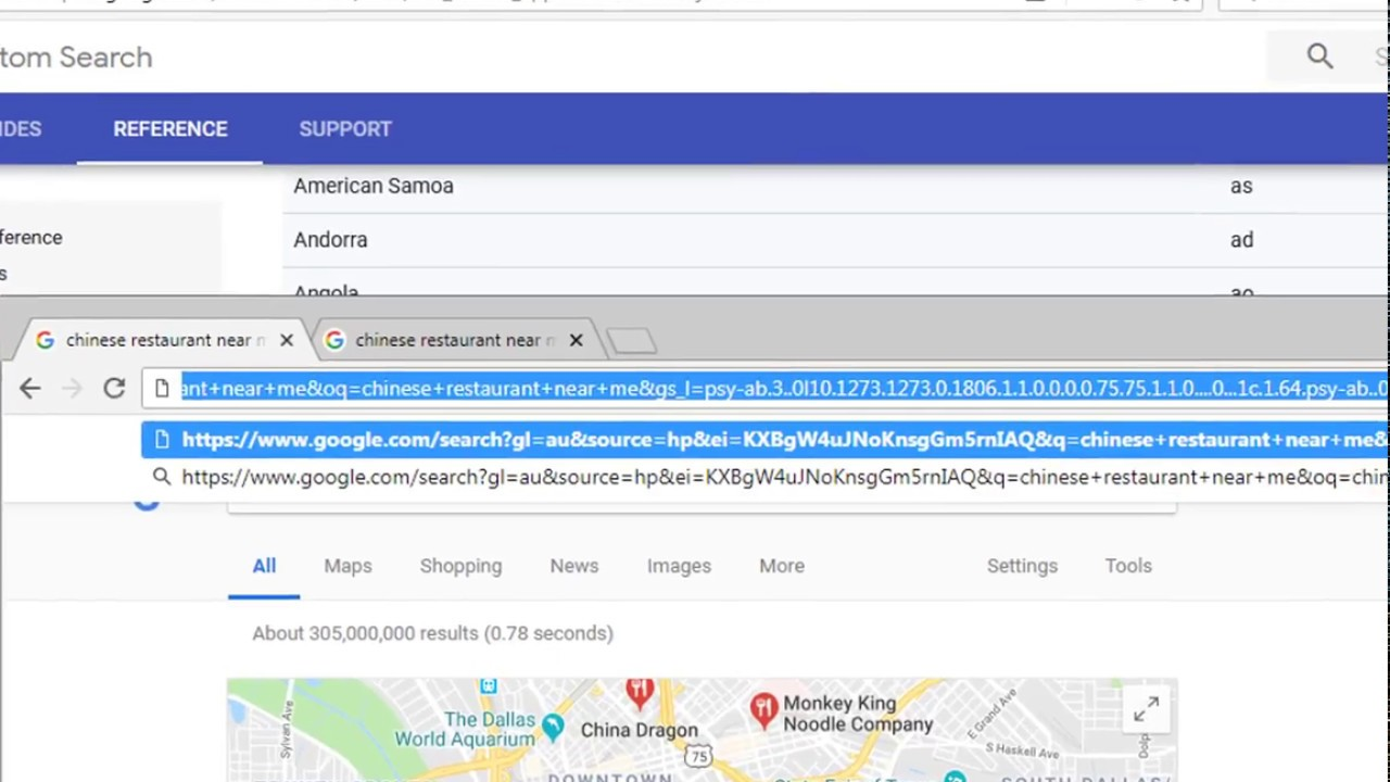 Get Country Specific Google search results :- No Proxies Needed