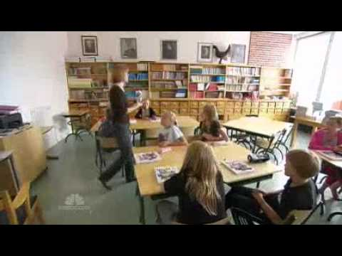 Education Finland has best education system in the world NBC NightlyNews_09292010