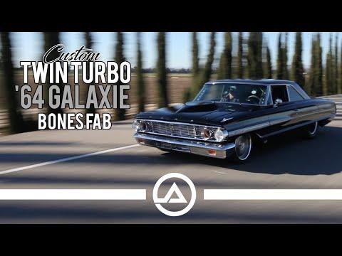 Custom Twin Turbo '64 Ford Galaxie Making Over 1,000 Hp | Bones Fab