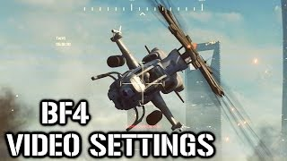 VIDEO SETTINGS Battlefield 4 /w Ngotie
