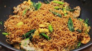 เทคนิคผัดมาม่าไวไวเส้นนุ่มสวย ไม่เละ ไม่มัน Stir fried instant noodle l กินได้อร่อยด้วย