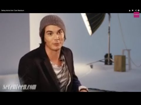 Tyler Blackburn on dating