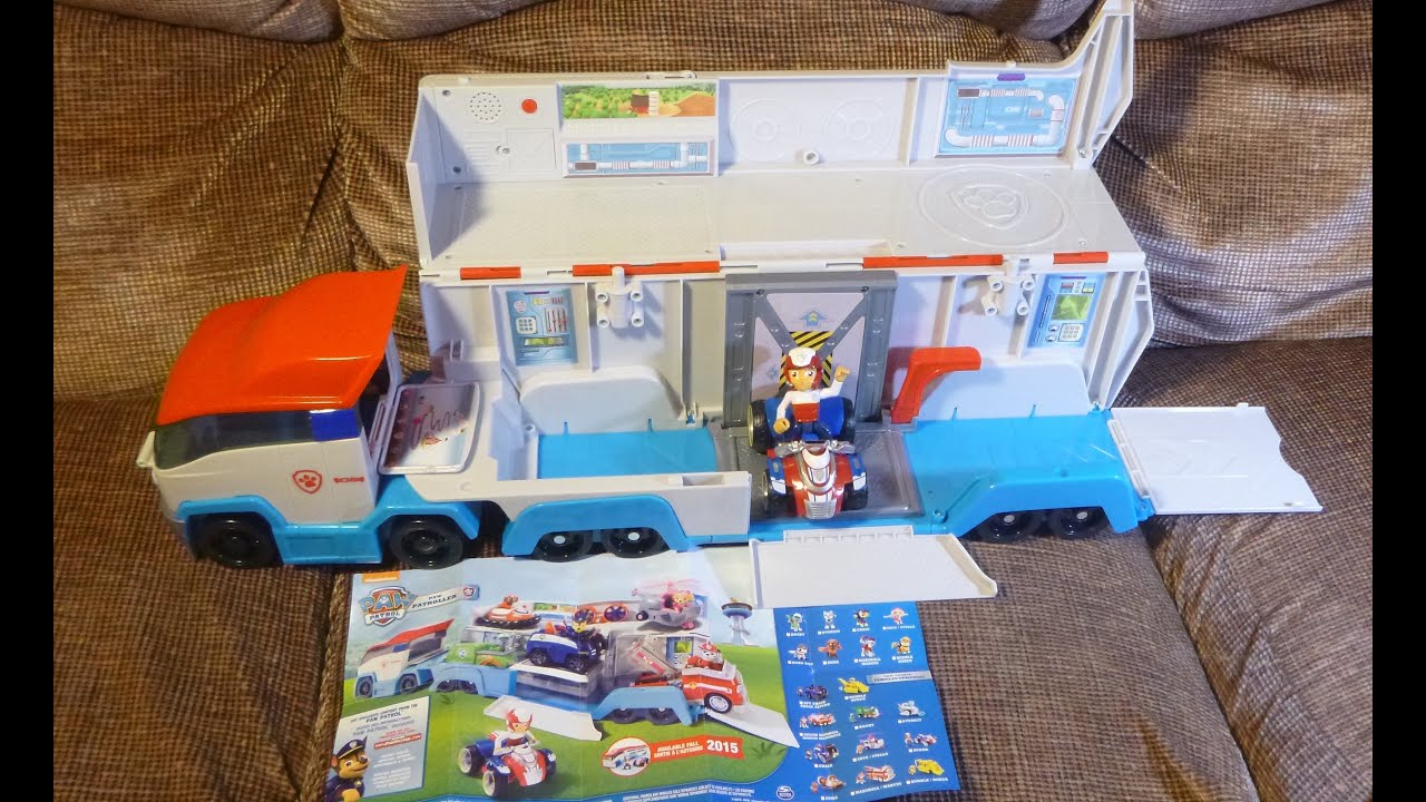Paw Patroller Paw Patrol Vehicle Opening Unboxing Review