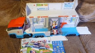 PAW PATROLLER Paw Patrol vehicle opening unboxing review Unboxalot 245