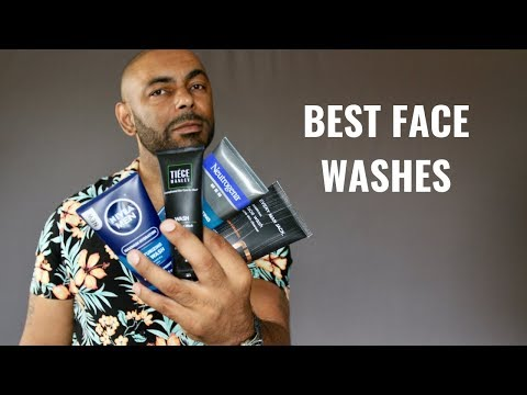 8 Best Men's Face Washes