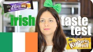 IRISH FOOD TASTE TEST | Secret Life Of Vivian