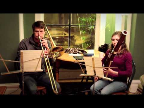 """""""Finish Line"""" - A Duet for Bassoon and Trombone"""