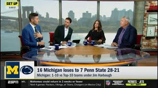 "Dan Orlovsky & Ryan Rex ""EXPLAINS WHY"": 16 Michigan loses to 7 Penn State 28-21 