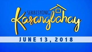 Serbisyong Kasangbahay (June 13, 2018)