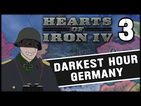 OPERATION SEA LION! Hearts of Iron 4 Darkest Hour Germany Campaign Part 3