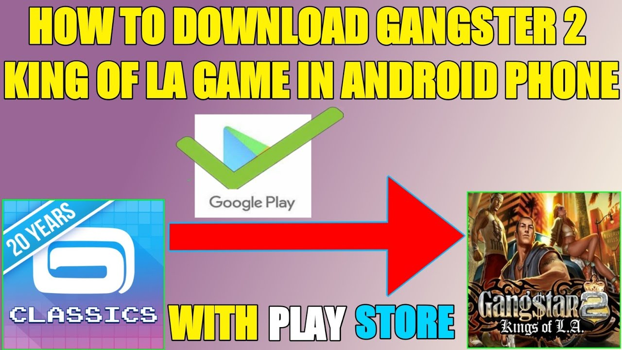 Download How To Download Gangster 2 King Of LA Game In Android Phone||With Play Store ||Technical Jankar
