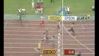 Jeremy Wariner - Osaka 2007 400m Final