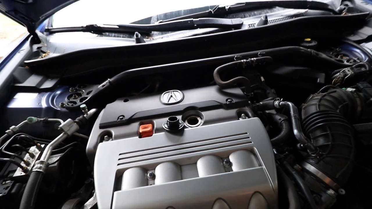 Quick Acura TSX Oil Change Nd Generation TSX YouTube - Acura tsx engine