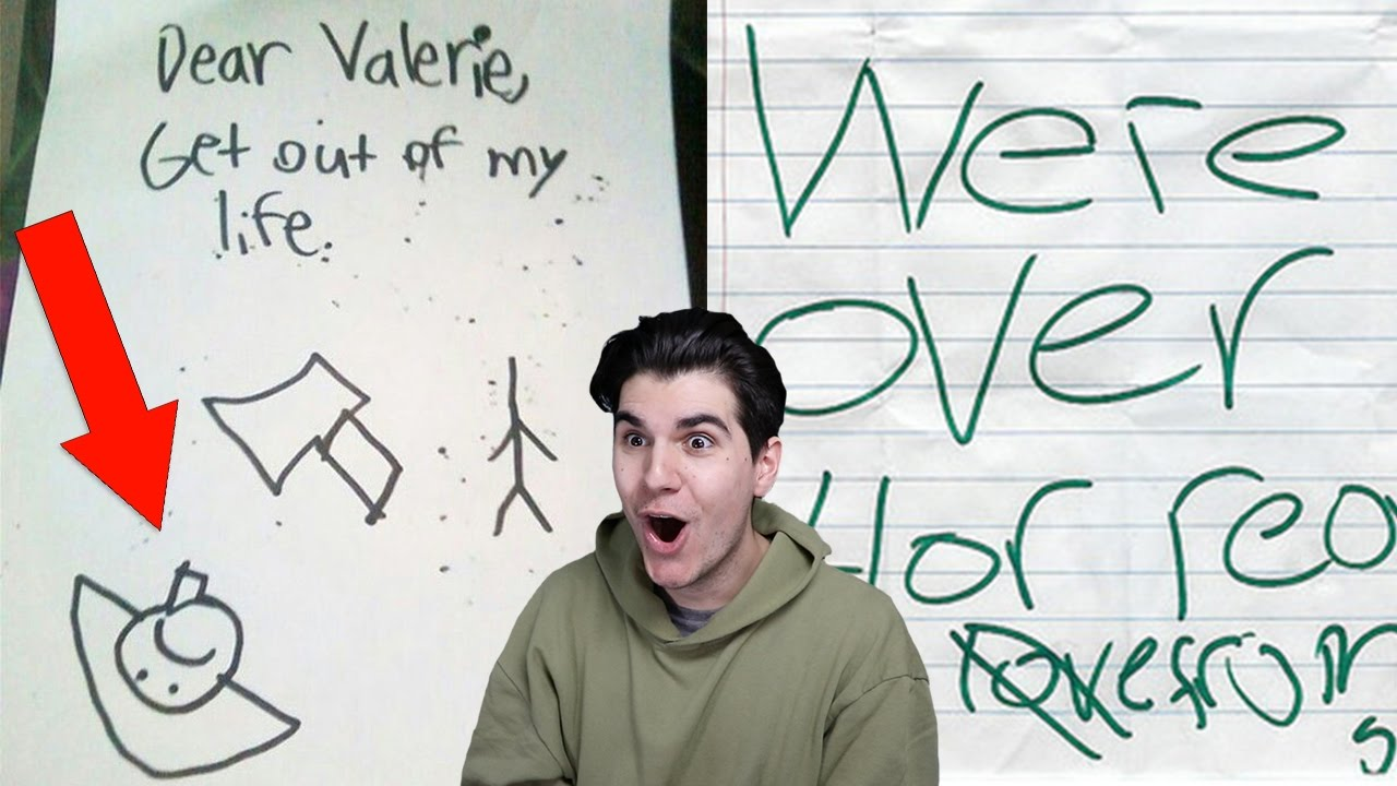 THE FUNNIEST KID BREAK UP LETTERS!! - YouTube