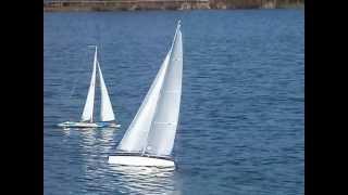 radio control 1 metre iom nimbus yacht