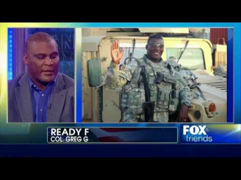 Colonel Retired Greg Gadson Shares His Story On Fox