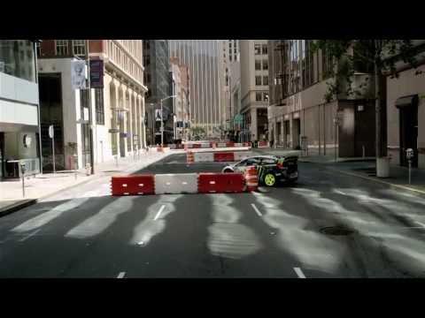 Light Em Up- Fall Out Boy (feat. Ken Block) Racing Version.