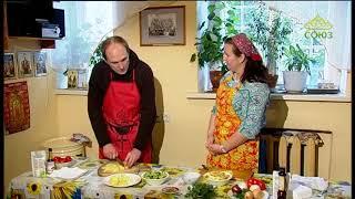 Кулинарное паломничество. Спасо-Андроников монастырь. Готовим простое блюдо из овощей
