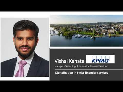 Crypto Valley Festival 2020 – Vishal Kahate (KPMG)