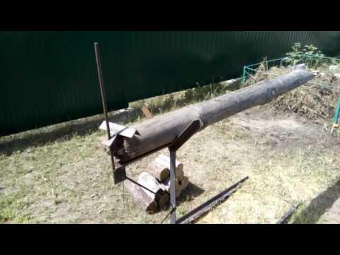 Козлы для распиловки дров бензопилой