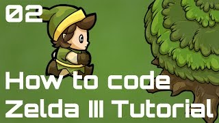 How to code a Zelda III-like Game - Episode 02 - Physics