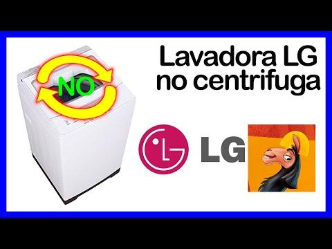lavadora lg no centrifuga segunda parte youtube