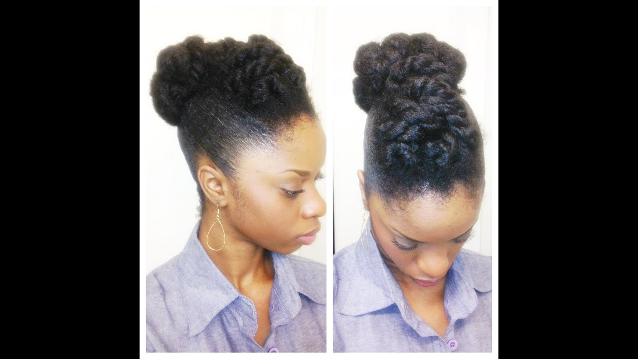 protective styles hair twisted updo hair 1302