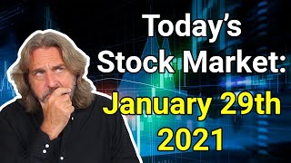 Stock market today   january 29, 2021here's what happened in the markets today, friday, 29th -- 5 minutes or less:well, we finally came to end...