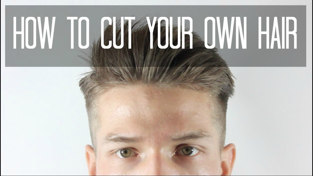 how to style male hair how to cut your own hair taper cut s hairstyles 9263 | maxresdefault