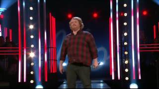 Martin Almgren - Fat bottomed girls - Idol Sverige (TV4)