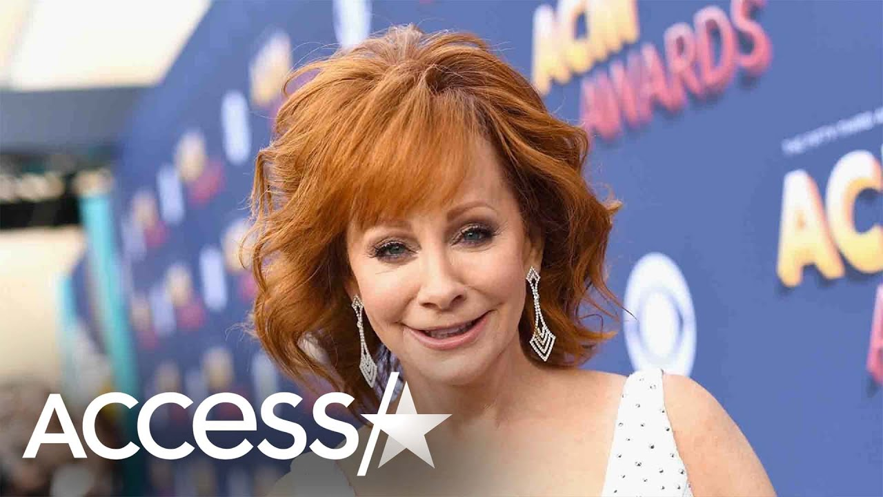 Reba McEntire rescued from second-story window after stairwell ...