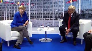 Trump Blasts Germany at NATO Summit