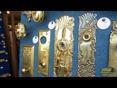 Antique Door Plates And Antique Door Hardware Youtube
