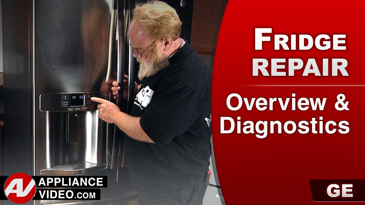 Ge Profile Microwave Repair Ge Refrigerator General Overview And Diagnostics Youtube