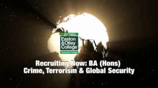 NEW BA (Hons) Crime, Terrorism & Global Security Degree
