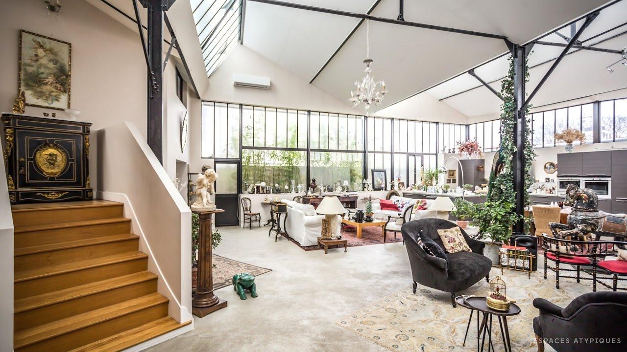 Loft avec terrasse dans une ancienne usine espaces atypiques youtube - Les plus belles deco interieur ...