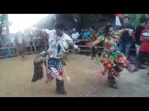 Aksi gedruk cewek jathilan Mardi Raharjo