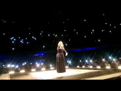 """Hello"" Adele 25 Live Tour 2016 Dublin Ireland- 3 Arena 4th March"