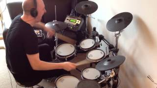 The Rolling Stones - Mixed Emotions (Roland TD-12 Drum Cover)