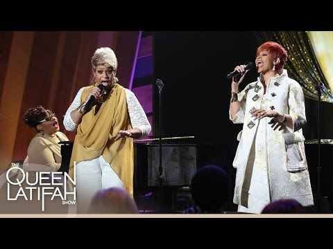"""The Clark Sisters Perform """"You Brought the Sunshine"""" on The Queen Latifah Show"""