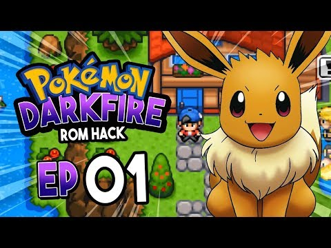 Pokemon Darkfire GBA Rom Hack Part 1 BEAUTIFUL ROM HACK Gameplay Walkthrough