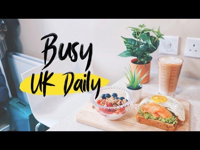 Uni Vlog|早午餐🥑、超美手機殼✨、兩千五百字報告🤯|Audrey英國留學筆記