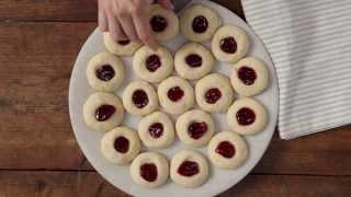 How To Make Lemon Thumbprint Cookies | Cookie Recipe