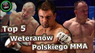Top 5 - Weteranów Polskiego MMA !
