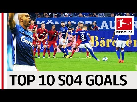 FC Schalke 04 Best Goals Season 2017/18 - Goretzka, Naldo & More
