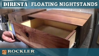 DiResta | Floating Nightstands Project