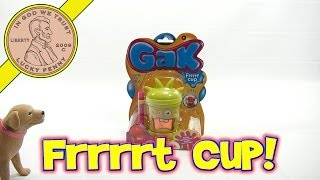 Nickelodeon GAK Frrrt Cup - Blow Giant Bubbles, Blast Frrrt Sounds!