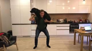 Man vs Women Labrador Squat