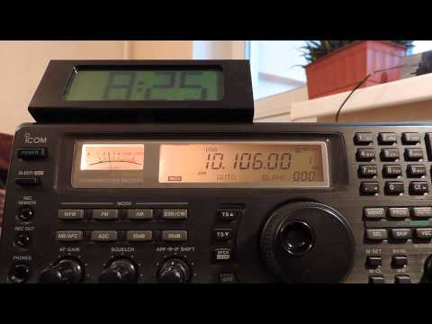10106kHz,Ham Radio,XR0ZR(Juan Fernandez Islands)